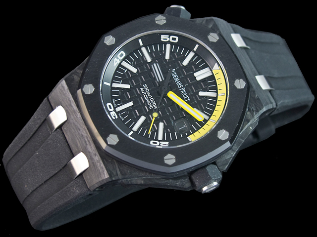 hombre Audemars Piguet Royal Oak Offshore Diver automático Reloj relojes  15706AU.00.A002CA.01 8499d8443e8