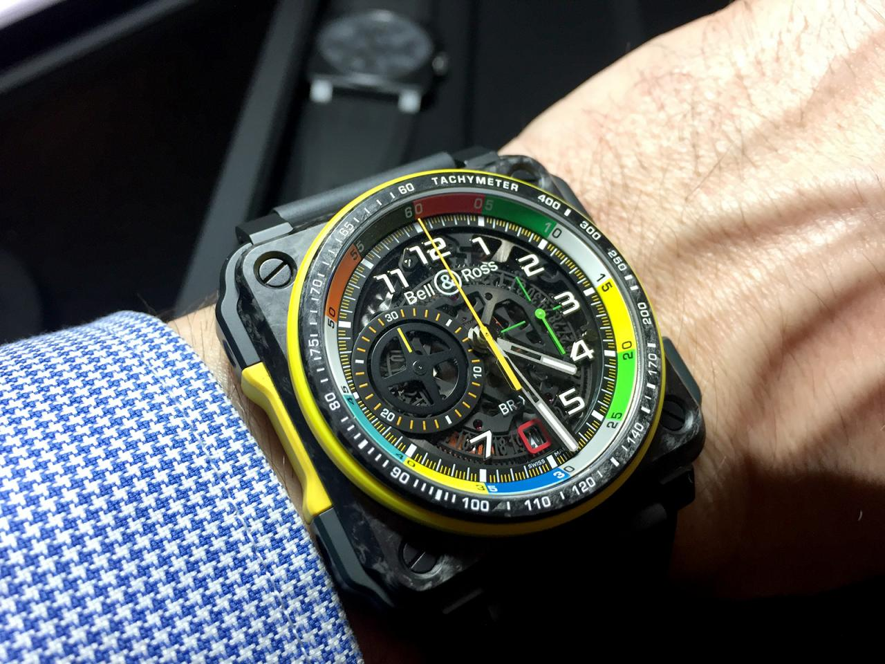 Bell & Ross BR-X1 RS17 Skeleton Chronograph