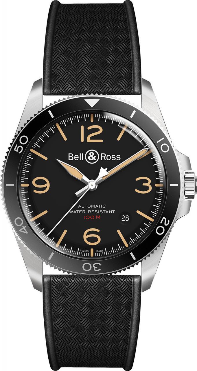 Bell & Ross Vintage BR V2-92 Steel Heritage