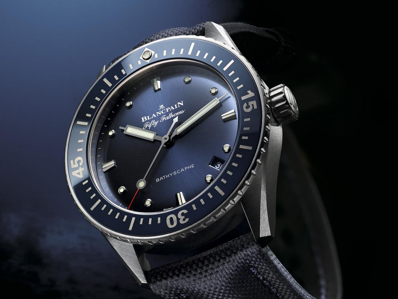 Blancpain Fifty Fathoms Bathyscaphe 38 mm