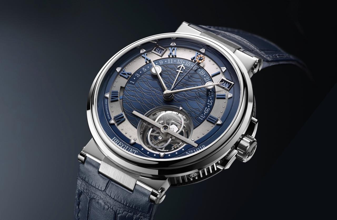 Breguet en Baselworld 2017 - Marine Equation Marchante 5887
