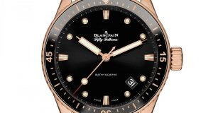 Blancpain Fifty Fathoms Bathyscaphe Sedna Gold 1