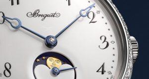 Breguet Classique Phase de Lune Dame - dial